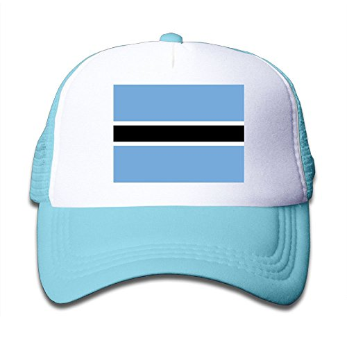 cheap Futong Huaxia Flag Of Botswana Boy & Girl Grid Baseball Caps Adjustable sunshade Hat For Children free shipping