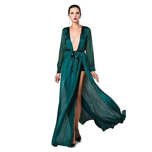 Slit Dresses: Amazon.com