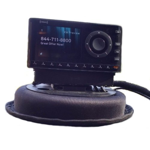SiriusXM Onyx Quick & Easy Portable Dash Kit (Lighter Radio Cigarette Satellite Mount)