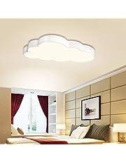 BFYLIN ściemniana lampa sufitowa, 72 W, do salonu, sypialni, kuchni, panel, oszczędność energii, minimalistyczny styl + FB