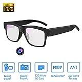 Camera Glasses HD 1080P,Towero Hidden Spy Camera Glasses for Work/Outdoor/Training/Teaching/Kids/Pets