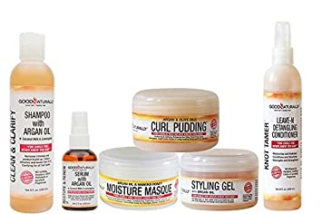 GOOD NATURALLY All NATURAL ORGANIC HAIR CURL CARE SYSTEM 6 PIECE BUNDLE – All NATURAL CURL CARE SYSTEM