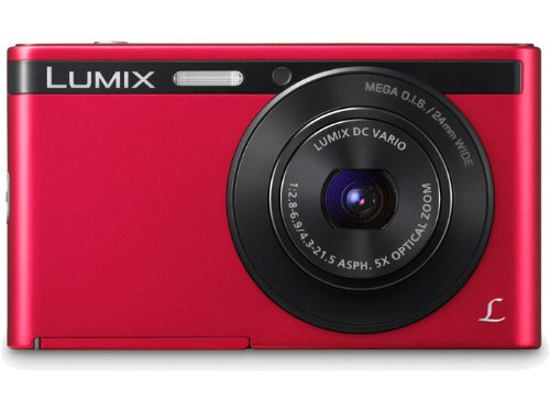 Panasonic Lumix XS1 16.1 MP Compact Digital Camera with 8x Intelligent Zoom (Red)