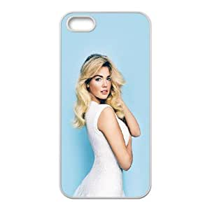 Kate Upton iPhone 5 5s Cell Phone Case White JU0028293