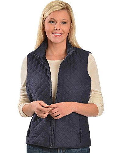 Outback Trading Co Women's Co. Grand Prix Vest Navy (Grand Prix Boots)