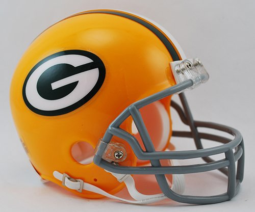 Green Bay Packers 1961-79 Throwback NFL Riddell Replica Mini Helmet