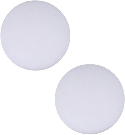 NUOBESTY 2 piezas pomo de puerta protector de pared perilla