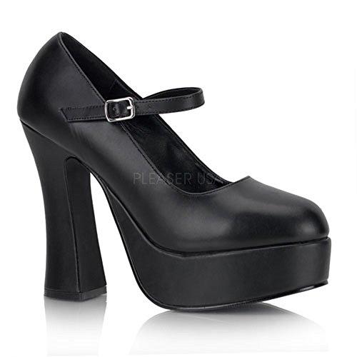 Heels-Perfect - Plataforma mujer negro - negro