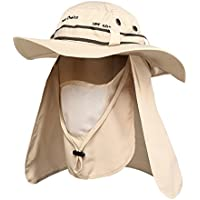 3510d50a64e Your Choice Sun Protection Hat Fishing Outdoor Hiking Camping Safari Hat  Boonie Wide Brim Boogie Landscaper Hats cap for