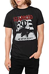 Machete Rancid Distressed and Out Come The Wolves Slim Fit T-Shirt S-2XL New