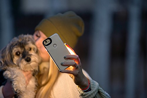 LuMee Two for iPhone 8/7/6s/6, The Original and AuthenticPatentProtected Selfie Case - Gold Matte by LuMee (Image #7)