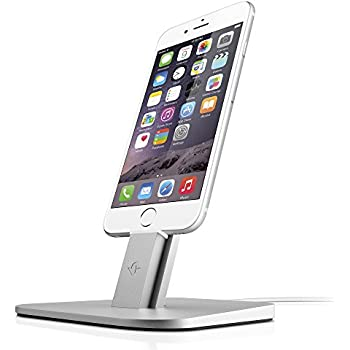 Twelve South HiRise for iPhone/iPad, Silver   Adjustable charging stand, requires Apple Lightning cable (not included)