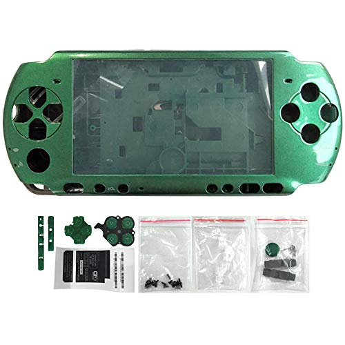 OSTENT Full Housing Shell Faceplate Case Repair Replacement Compatible for Sony PSP 3000 Console Color -