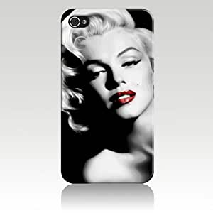 Shark?Marilyn Monroe Famous And Sexy case for Apple Iphone 6 (4.7-Inch)