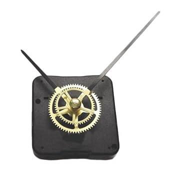 9e23964a06 Amazon.co.jp: (1548) 時計 ムーブメント 歯車 機械 デザイン ゴールド スチームパンク 手作りキット 時計針 セット クロック  壁掛け: ホビー