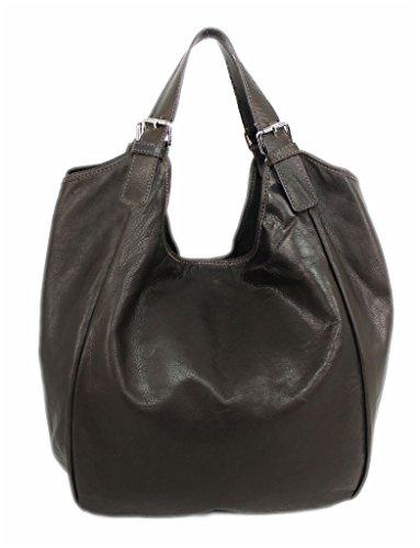 Cognac Dark Brown Bag 4250736212659 Womens brown Leatherworld Cloth qUTZtv