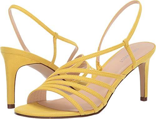 Nine West Womens Atfirst Citrine Yellow 10 M