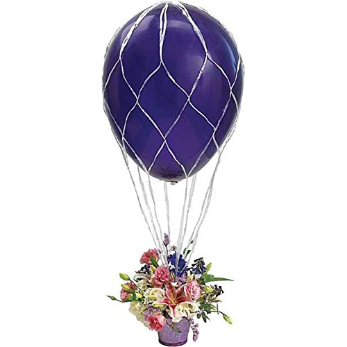 Hot Air Balloon Net (Hot Air Balloon Arrangement Net 2' Large Party Bouquet Centerpiece)