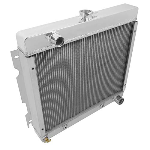 NEW FROSTBITE ALUMINUM RADIATOR,2 ROW,FITS 70-72 DODGE/PLYMOUTH A-BODY,16-7/8