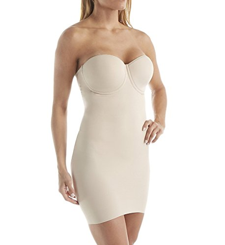 Miraclesuit Shapewear Women's Real Smooth Strapless Slip Nude -
