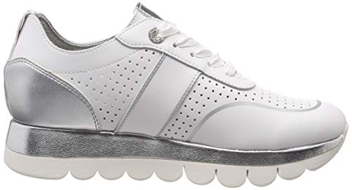 1 117 Zapatillas Leather 22 Tamaris 1 Para 117 Mujer Blanco 23723 white gxdxqfwA
