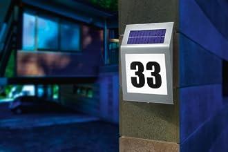 Solar Hausnummer Bild