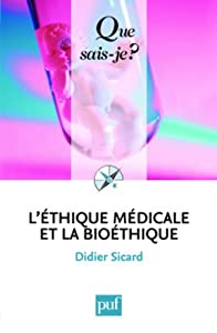 """Afficher """"L'éthique médicale et la bioéthique"""""""