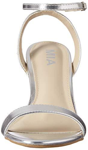 Maisie Amore Silver Women's MIA Pump z1HZqw