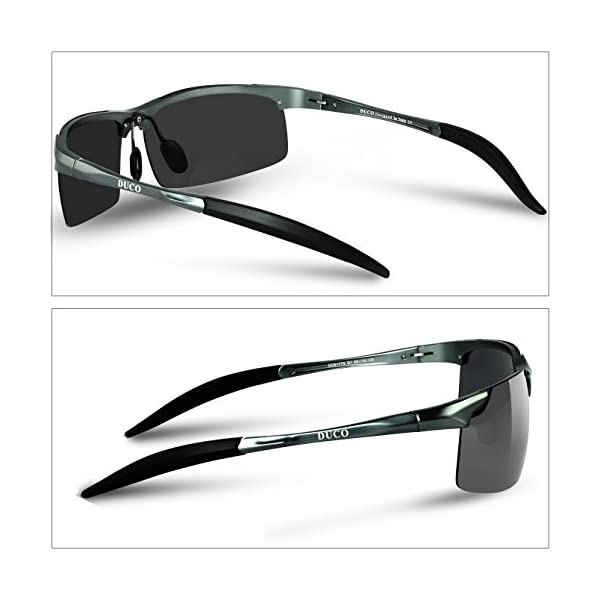d1dc299083b6 Home   Accessories   Eyewear and Accessories   Sunglasses   Duco Men s  Driving Sunglasses Polarized Glasses Sports Eyewear Fishing Golf Goggles  8177S
