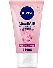 غسول الوجه ميسيلار بماء الورد لبشرة منعشة من نيفيا - 150 مل