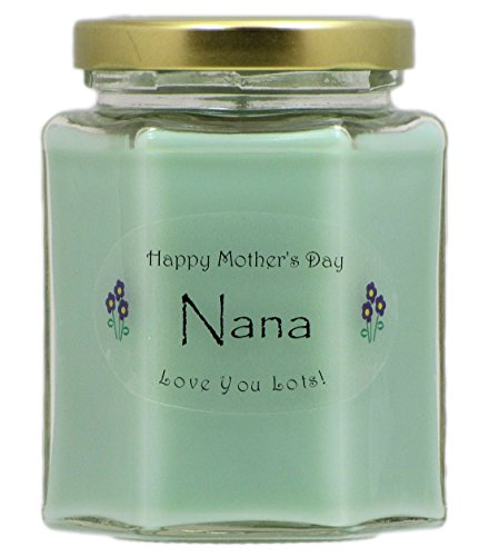 Just Makes Scents Nana Mothers Day Candle - Cucumber Melon Scented Candle - Hand Poured in The USA