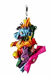 Platinum Tweeter Toys Bird Toy, Mardi Gras, X-Small