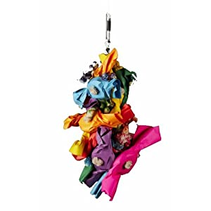 Platinum Tweeter Toys Bird Toy, Mardi Gras, X-Small 81