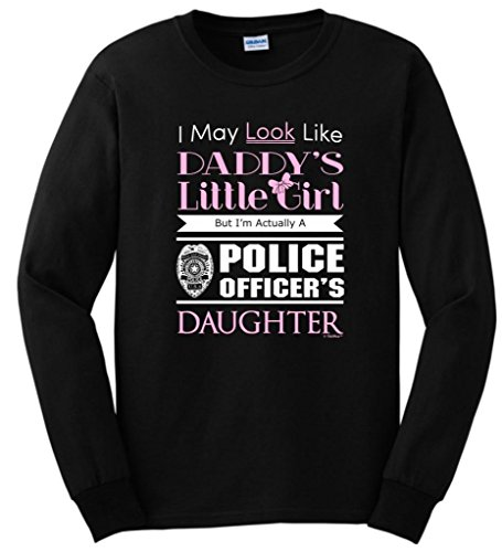 Daddys Little Officers Daughter T Shirt