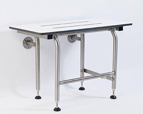 GBS 32'' Phenolic Shower Seat - Rectangular with Legs