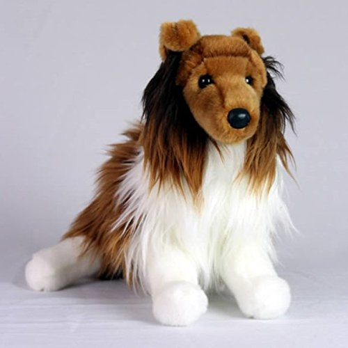 (Collie Dog- Stuffed Animal Therapy for People with Memory Loss from Aging and Caregivers)