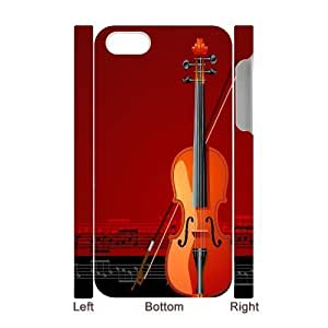 C-Y-F-CASE DIY Design Musical Instruments Pattern Phone Case For Iphone 4/4s hjbrhga1544