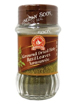 Nguansoon Ground Dried Holy Basil Leaves 40g by Nguan Soon