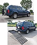Silver Spring SC400-V2 Steel Folding Scooter and Wheelchair Carrier with Ramp