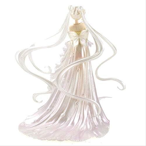 25 cm Sailor Moon Anime Figuren Tsukino Trouwjurk Collectible Model Toys PVC Action Figurine
