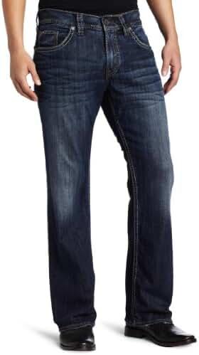 Silver Jeans Men's Zac Relaxed-Fit Straight-Leg Jean