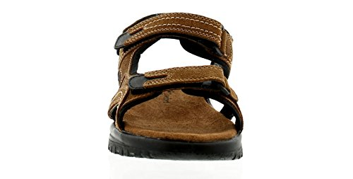 Wynsors Martin Mens Leather Comfort Sandals Brown - Brown - UK Sizes 6-12 BvceL