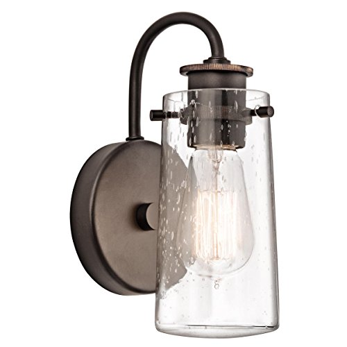 Kichler 45457 Wall Sconces Braelyn Indoor Lighting; Olde Bro