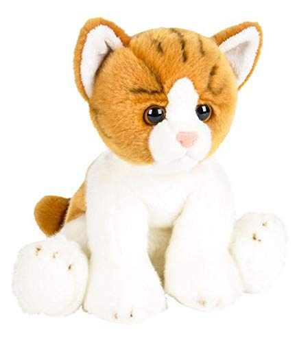 """Wildlife Tree 12"""" Stuffed Orange and White Tabby Kitten, used for sale  Delivered anywhere in Canada"""