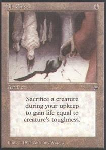 Magic: the Gathering - Life Chisel - Legends