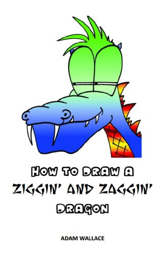 How To Draw A Ziggin And Zaggin Dragon Rhymes With Art