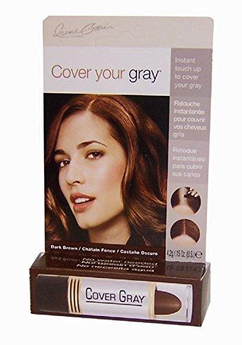 Dynatron Grinda Cover your gray Farbstick, dunkelbraun, 1 x 1 Stück, 1er Pack