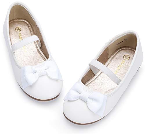 Girl's Ballet Dress Flats Mary Jane Slip On Wedding Party School Uniform Shoes (Toddler/Little Kid), Dress Flat Shoes Girls -