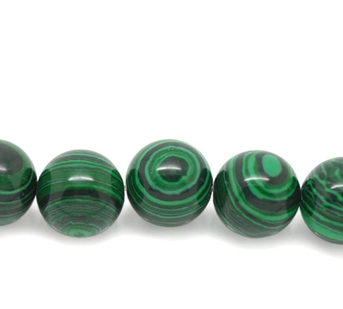 HOUSWEETY Strand Malachite Semi Precious Gemstone