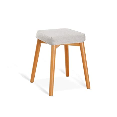 Fine Amazon Com Solid Wood Stool Bedroom Dressing Table Makeup Pabps2019 Chair Design Images Pabps2019Com